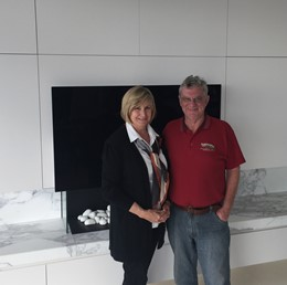 Testimonial from Geoff and Lorraine Thoroughgood